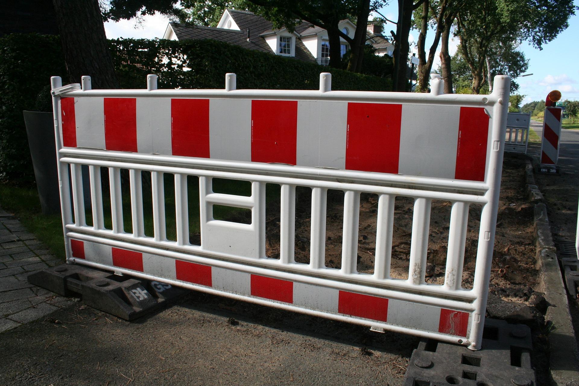 Qu'est ce qu'une barrière de chantier ?